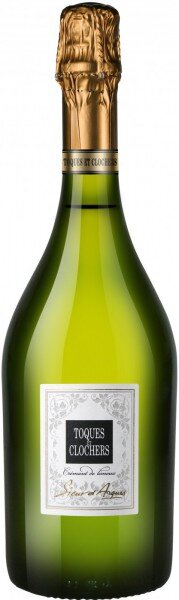 """Игристое вино """"Toques et Clochers"""", Cremant de Limoux AOC"""