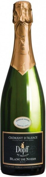 """Игристое вино Dopff au Moulin, Cremant d'Alsace """"Blanc de Noirs"""" Brut, 2011"""