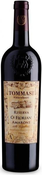 """Вино Tommasi, """"Ca' Florian"""" Riserva, Amarone della Valpolicella Classico DOC, 2008"""
