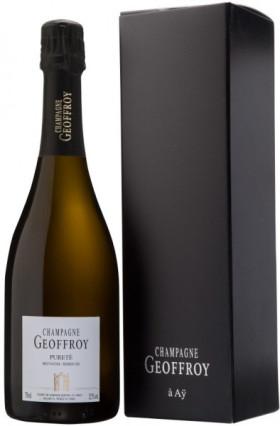 "Шампанское Rene Geoffroy, ""Purete"" Brut Nature Premier Cru, Champagne AOC, gift box"