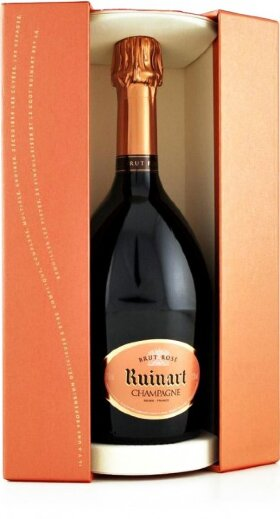 Шампанское Ruinart, Rose in gift box