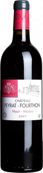 Вино Chateau Peyrat-Fourthon Kosher, Haut-Medoc AOC, 2007