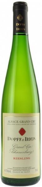 "Вино Dopff & Iron, Riesling Grand Cru ""Schoenenbourg"", Alsace AOC, 2011"