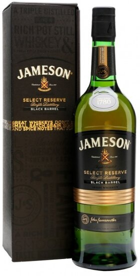 Виски Jameson Select Reserve, Black Barrel, gift box, 0.7 л