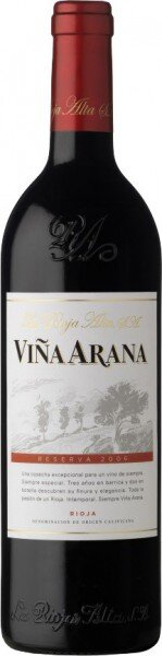 "Вино ""Vina Arana"" Reserva, Rioja DOC, 2006"
