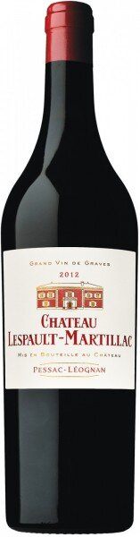 "Вино ""Chateau Lespault-Martillac"" Rouge, Pessac-Leognan AOC, 2012"