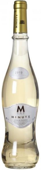 "Вино Chateau Minuty ""M"" de Minuty Blanc, Cotes de Provence AOC 2010"