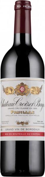 Вино Chateau Croizet-Bages 5-me Grand Cru Classe, 2009