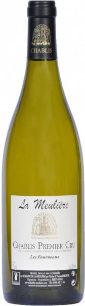 """Вино Domaine de la Meuliere, Chablis Premier Cru """"Les Fourneaux"""" AOC, 2013, 0.375 л"""