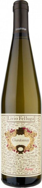 Вино Livio Felluga, Chardonnay, Colli Orientali Friuli DOC, 2014