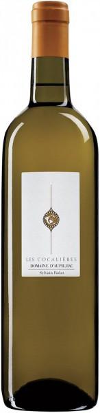 """Вино Domaine d'Aupilhac, """"Les Cocalieres"""" Blanc, Coteaux du Languedoc AOC, 2015"""
