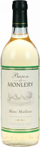 "Вино ""Baron De Monlery"" Blanc Moelleux"