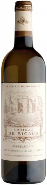 Вино Chateau de Ricaud, Bordeaux AOC, 2015