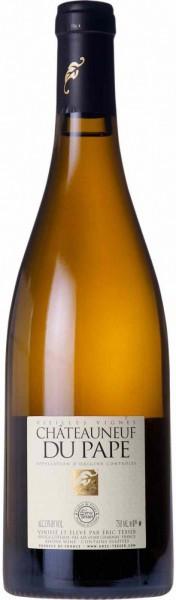"""Вино Eric Texier, Chateauneuf-du-Pape """"Vieilles Vignes"""" AOC Blanc, 2006"""