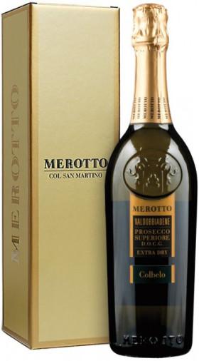 """Игристое вино Merotto, """"Colbelo"""", Valdobbiadene Prosecco Superiore DOCG, gift box"""