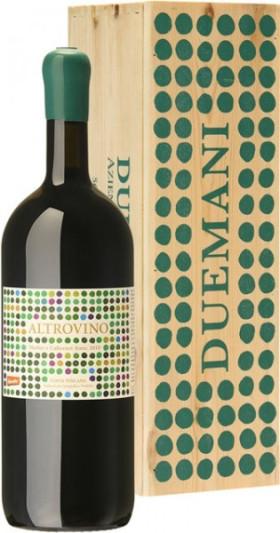 """Вино Azienda Vitivinicola Duemani, """"Altrovino"""", Toscana IGT, 2014, wooden box, 3 л"""
