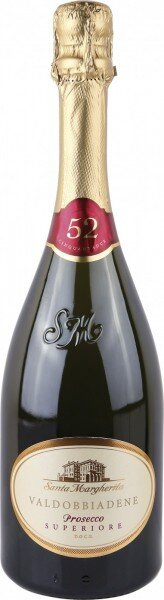"""Игристое вино Santa Margherita, """"52"""" Extra Dry, Valdobbiadene Prosecco Superiore DOCG, 2013"""