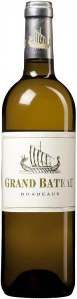 """Вино """"Grand Bateau"""" Blanc, Bordeaux AOC, 2012"""