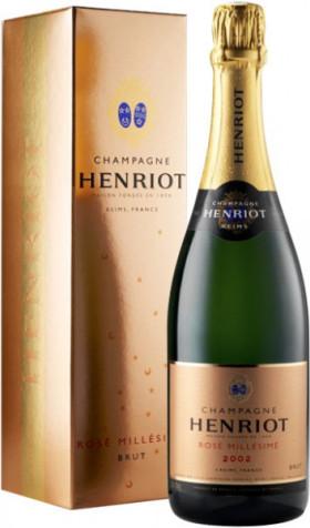 Шампанское Henriot, Brut Rose Millesime, 2002, gift box