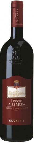 """Вино Castello Banfi, """"Poggio alle Mura"""" Rosso di Montalcino DOC, 2014"""