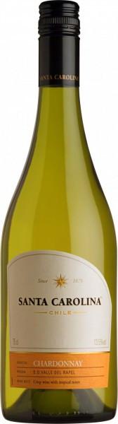 Вино Santa Carolina, Chardonnay, Valle de Rapel DO