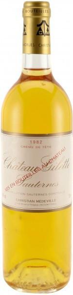 Вино Chateau Gilette Sauternes AOC 1982