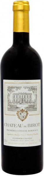 Вино Chateau de Birot, Premieres Cotes de Bordeaux AOC, 2007