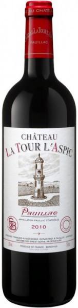 Вино Chateau La Tour l'Aspic, Pauillac AOC, 2010