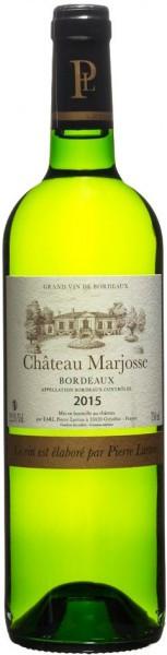 "Вино ""Chateau Marjosse"" Blanc, Entre-Deux-Mers AOC, 2015"