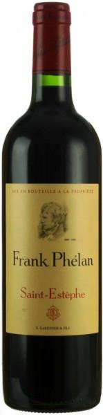 "Вино ""Frank Phelan"", Saint-Estephe AOC, 2011"