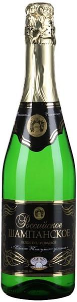 "Игристое вино ""Nevskaya Zhemchuzhina Zolotaya"", Rossiyskoe Champagne"