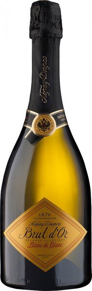 Игристое вино Abrau-Durso, Brut d'Or Blanc de Blanc, 2013