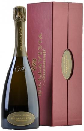 "Игристое вино Bellavista, Franciacorta Gran Cuvee ""Pas Opere"", 2005, gift box"