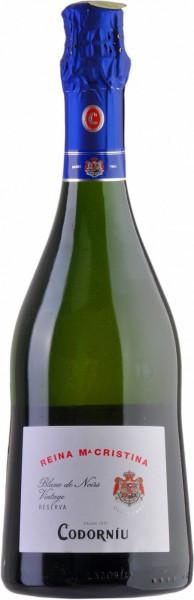 "Игристое вино Codorniu, ""Reina Maria Cristina"" Blanc de Noir Brut Reserva"