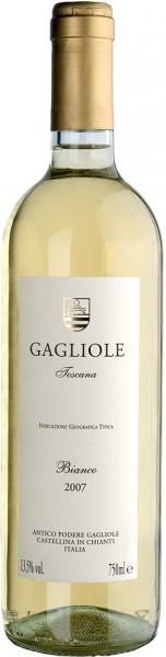 Вино Gagliole Bianco, Toscana, IGT, 2007