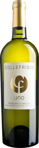 """Вино Collefrisio, """"Uno"""" Trebbiano d'Abruzzo DOC, 2013"""