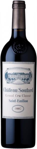 Вино Chateau Soutard, Saint-Emilion Grand Cru Classe AOC, 2007