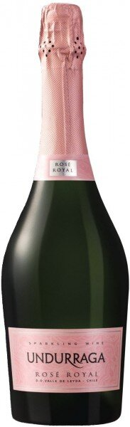 Игристое вино Undurraga, Brut Rose Royal, Valle de Leyda DO