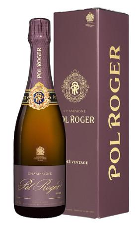 Шампанское Pol Roger Brut Rose 2008 gift box 0.75л