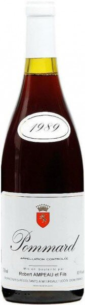 Вино Robert Ampeau et Fils, Pommard AOC, 1989