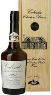 Кальвадос Coeur de Lion Calvados 1963, wooden box, 0.7 л