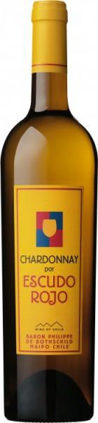 Вино Baron Philippe de Rothschild, Chardonnay por Escudo Rojo, 2012