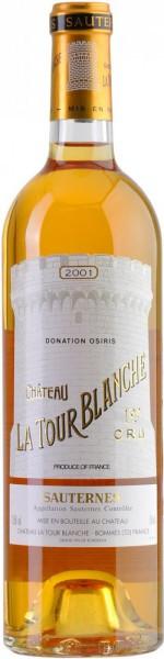 Вино Chateau La Tour Blanche, Sauternes AOC, 2001