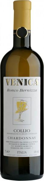 """Вино Venica & Venica, Chardonnay Collio DOC """"Ronco Bernizza"""", 2014"""