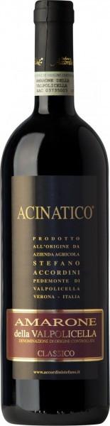 """Вино Stefano Accordini, Amarone Classico """"Acinatico"""" DOC, 2010"""
