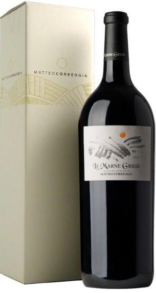 "Вино Matteo Correggia, ""Le Marne Grigie"", Langhe Rosso DOC 2001, in gift box, 1.5 л"