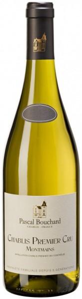 "Вино Pascal Bouchard, Chablis Premier Cru ""Montmains"" AOC, 2012"