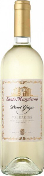 Вино Santa Margherita, Pinot Grigio, Valdadige DOC, 2014, 0.375 л
