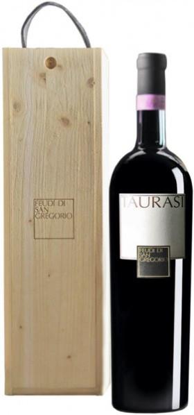 Вино Feudi di San Gregorio, Taurasi DOCG, 2000, wooden box, 1.5 л