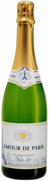 """Игристое вино """"Amour de Paris"""" Demi-Sec"""